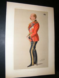 Vanity Fair Print 1890 Duke of Connaught & Stratham